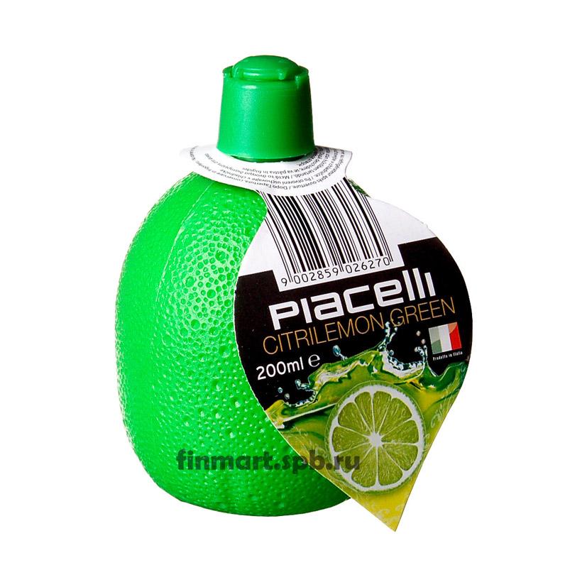 Концентрированный сок лайма Piacelli citrilemon green - 200 мл.