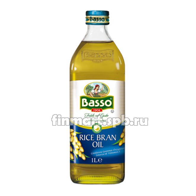 Масло рисовое рафинированное Basso Rice Bran oil - 1 л.
