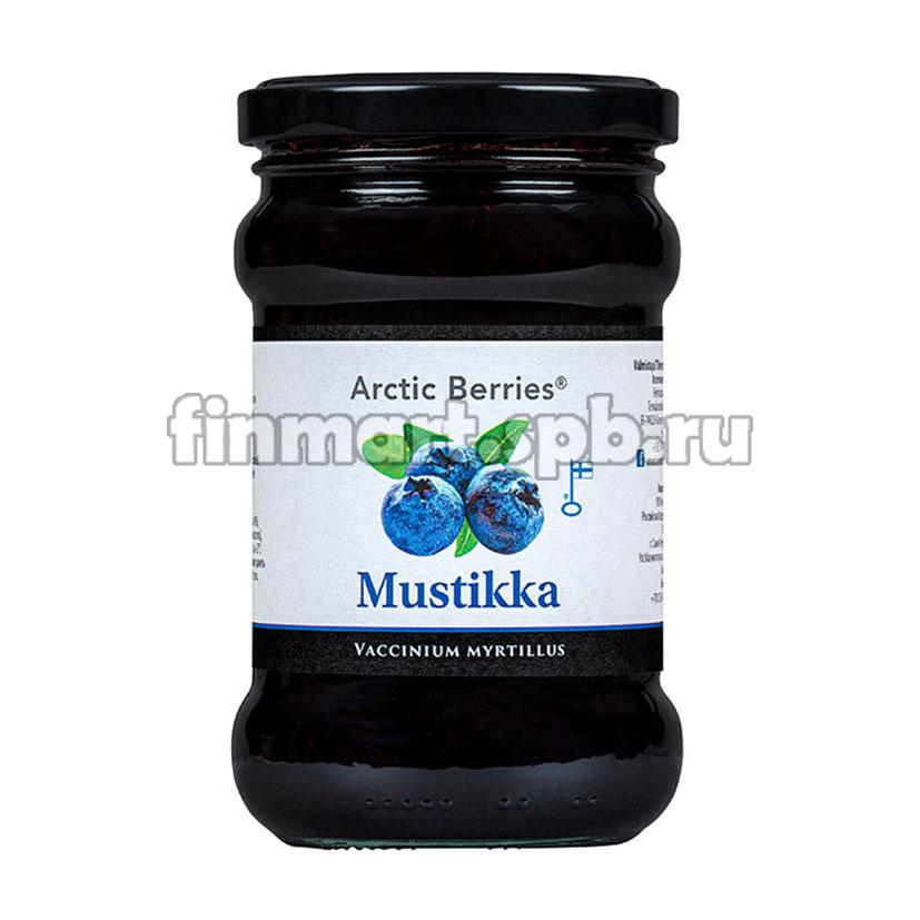 черничное варенье  Arctic Berries Mustikka