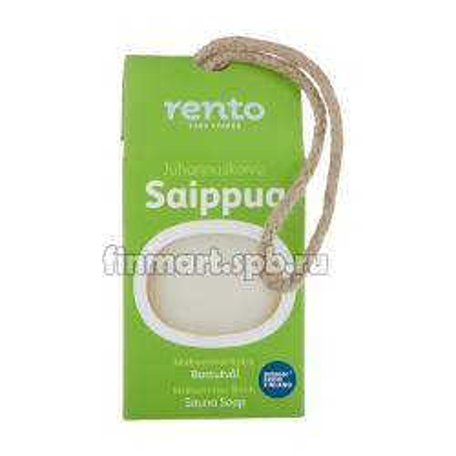 Мыло для бани и сауны Rento Juhannuskoivu Saippua (берёза) - 150 гр.