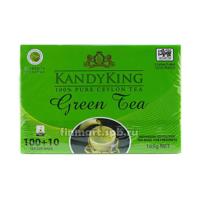Зелёный чай Kandyking Green tea - 110 пак.