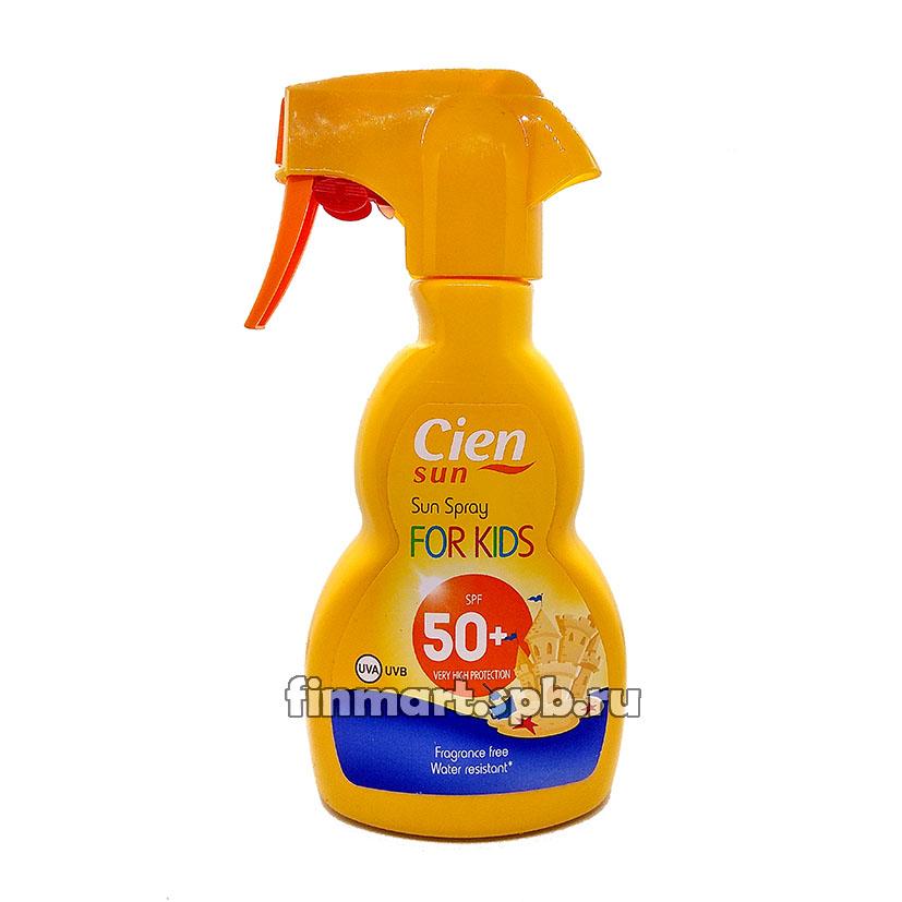 Солнцезащитный спрей для детей Сien sun spray for kids (spf50) - 250 мл.
