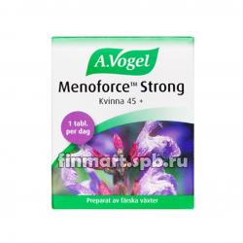 Витамины A.Vogel Menoforce Strong 45+ - 30 таб.