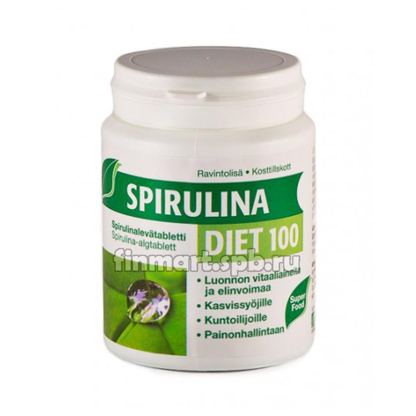 Микроводоросли Spirulina Diet 100 - 290 таб.