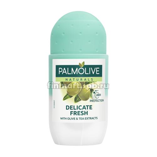 Роликовый дезодорант Palmolive delicate fresh (48h) - 50 мл.