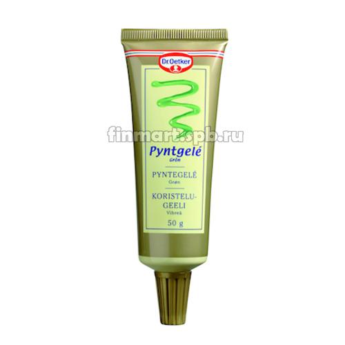 Украшающий гель Dr. Oetker Pyntgele Gron (зелёный) - 50 гр.