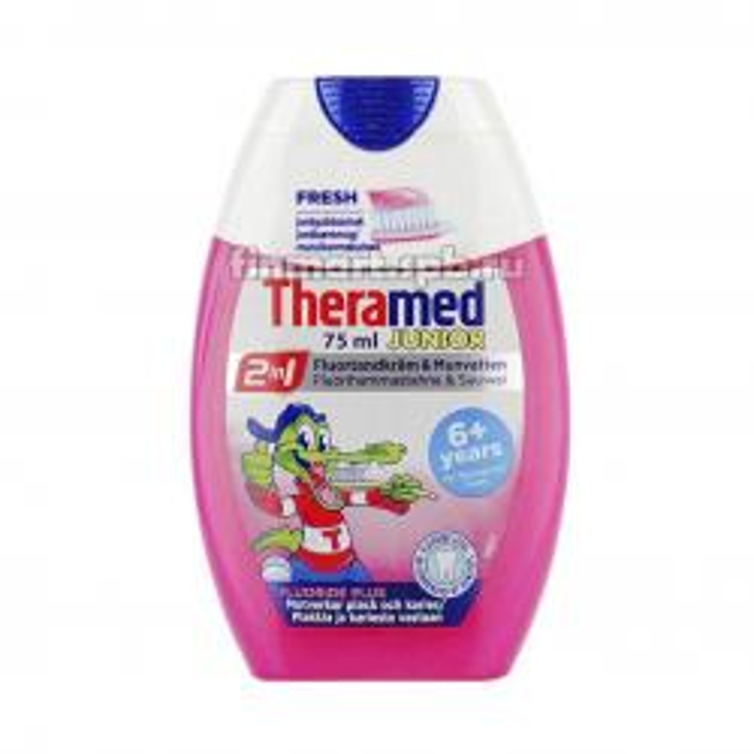 Зубная паста Theramed Junior 2 в 1 - 75 мл.