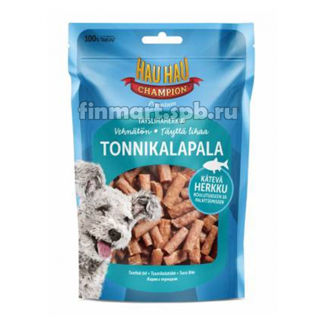 Лакомство для собак Hau hau Tonnikalapala (филе тунца) - 100 гр.