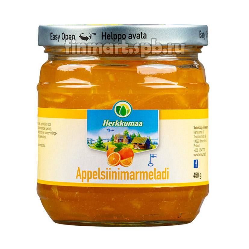 Апельсиновый джем Herkkumaa appelsiinimarmeladi - 450 гр.