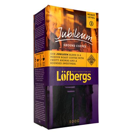 Кофе молотый Lofbergs Jubelium 3 - 500 гр.