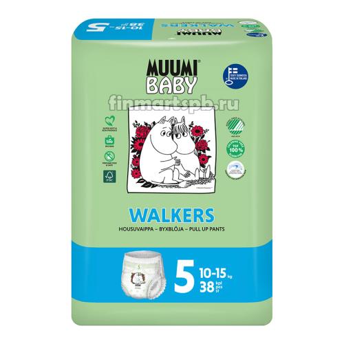 Трусики Muumi Walkers №5 (10-15 кг)