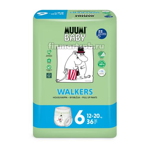 Трусики Muumi Baby Walkers №6 (12-20 кг)