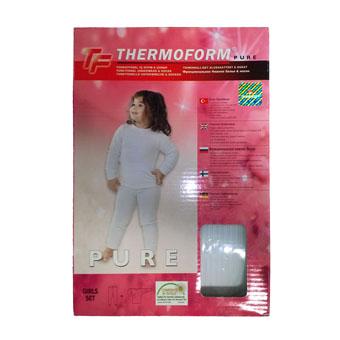 Термобельё для девочек Thermoform Pure (белое)