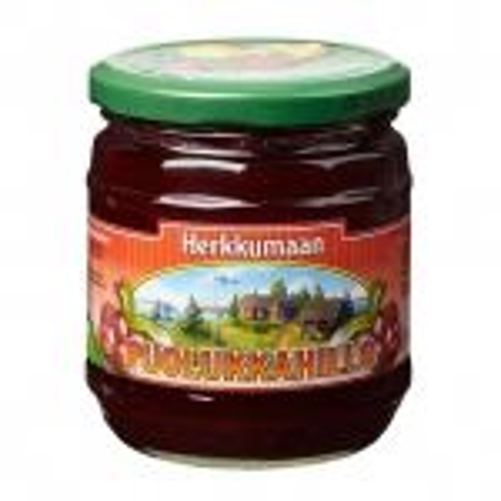 Варенье Herkkumaan puolukkahillo (брусника) - 460 гр.