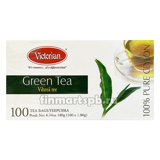 Зелёный чай Victorian Green Tea - 100 пак.