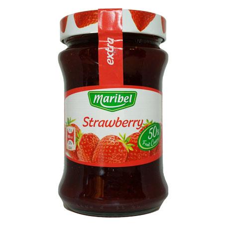 Джем Maribel Strawberry (клубника) - 450 гр.