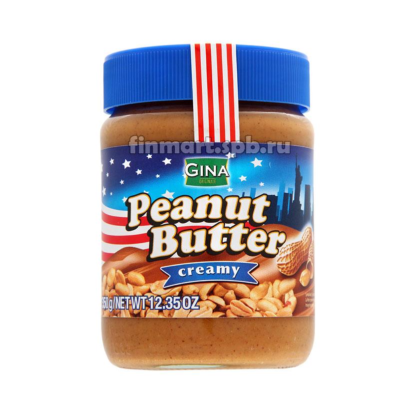 Арахисовое масло Gina Peanut Butter creamy - 350 гр.