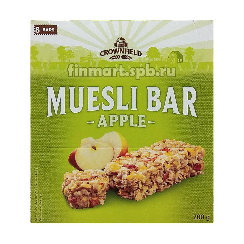 Батончики мюсли Muesli Bar Apple (с яблоком) - 8 шт.