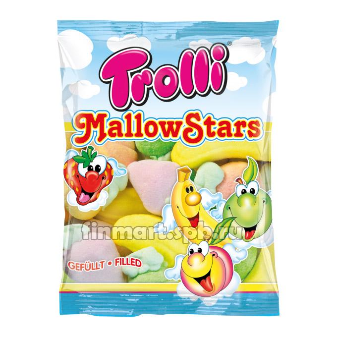 Маршмеллоу ассорти Trolli MallowStars - 150 гр.