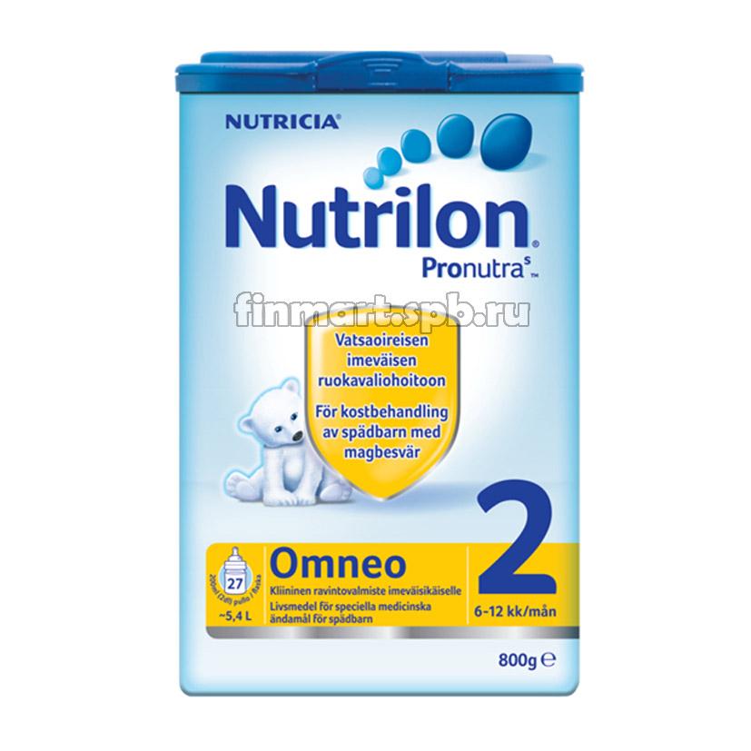 Сухая молочная смесь Nutricia Nutrilon Pronatura Omneo 2 - 800 гр.