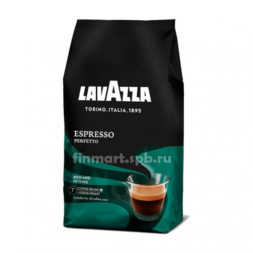 Кофе в зёрнах LavAzza Epresso Gusto Perfetto - 1 кг.