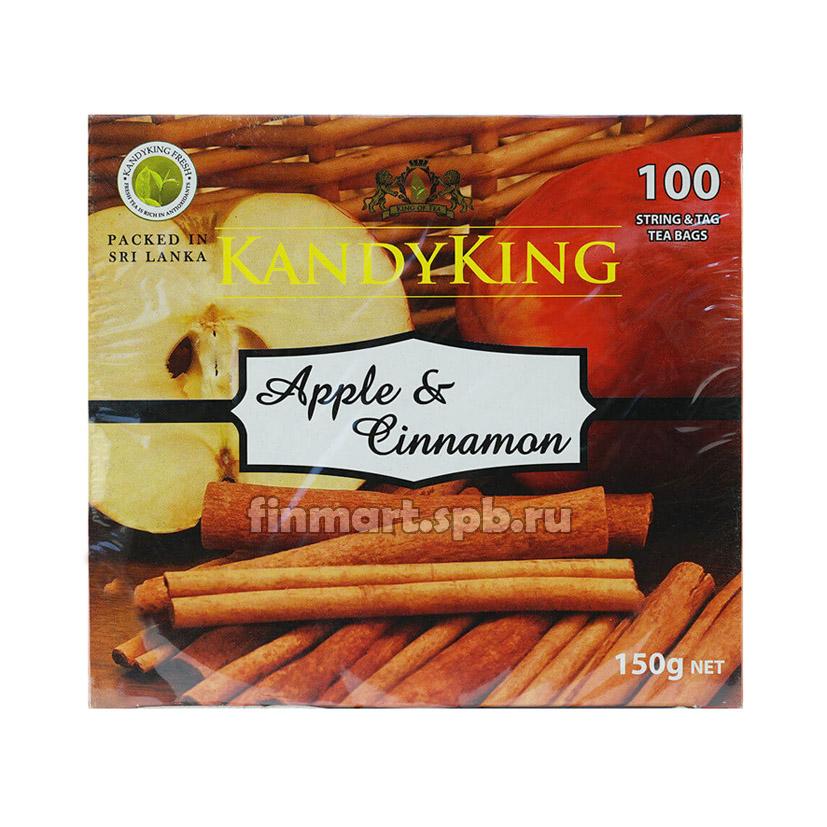 Чай Kandyking Apple&Cinnamon (яблоко, корица) - 100 пак.