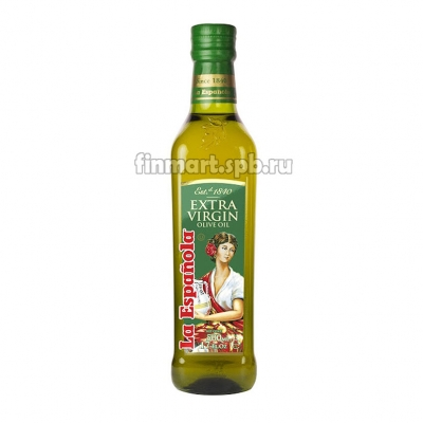 Оливковое масло La Espanola Extra Virgine olive oil - 500 мл.