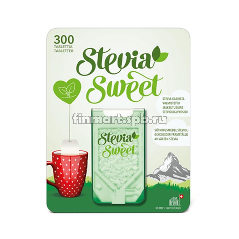 Заменитель сахара Stevia sweet  - 300 таб.