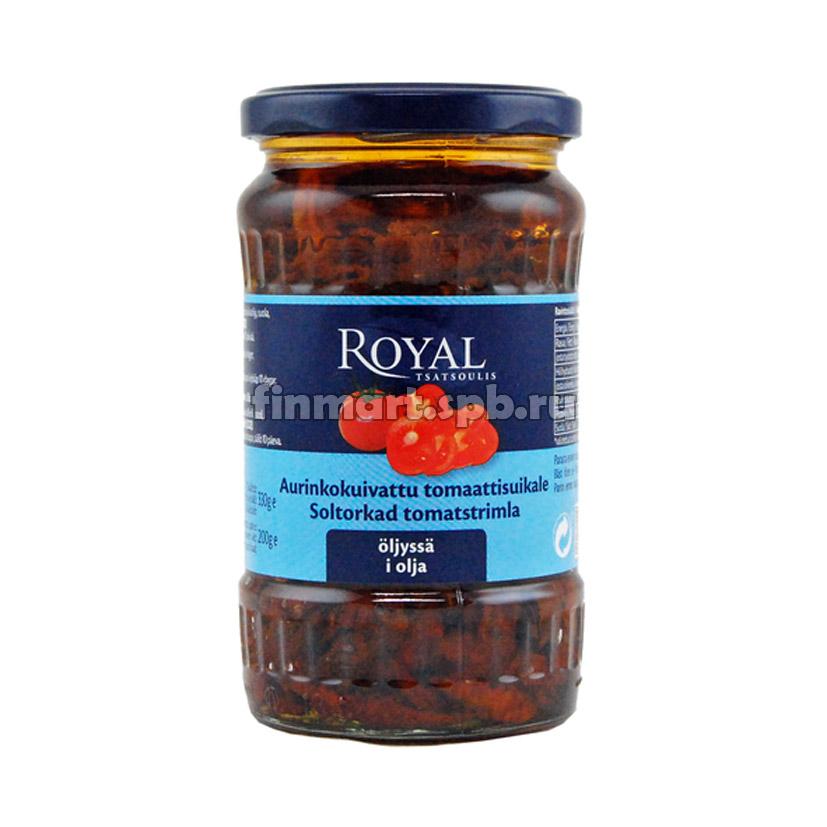 Вяленые томаты в масле Royal aurinkokuivattu tomaattisuikale oljyssa - 330 гр.