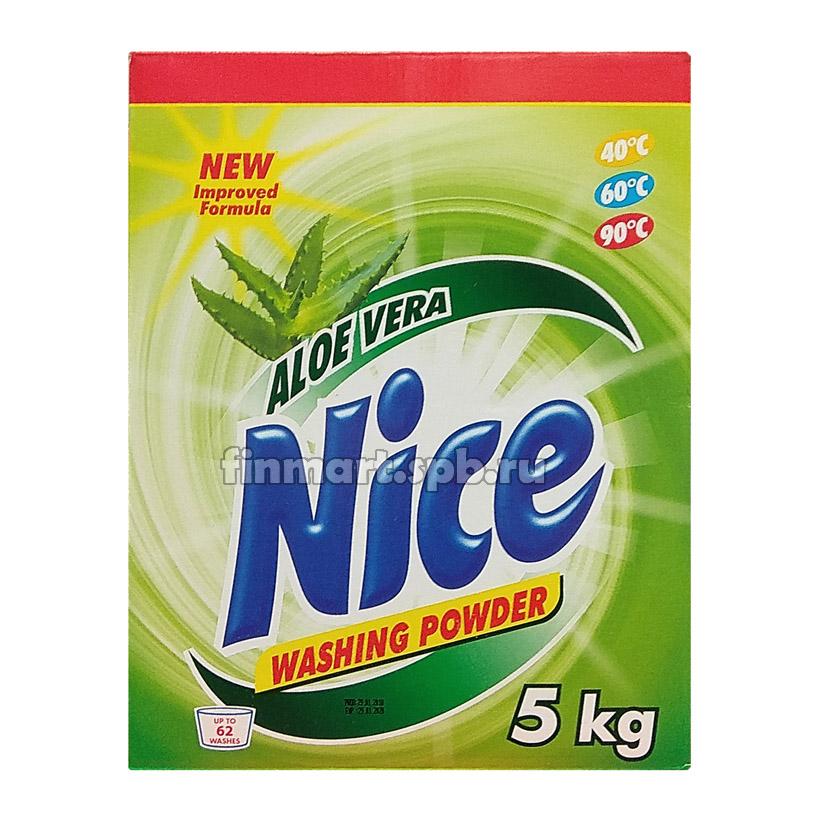 Стиральный порошок Nice Aloe Vera - 5 кг.