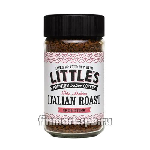 Растворимый кофе премиум Little's Italian Roast Premium Coffee - 50 гр.