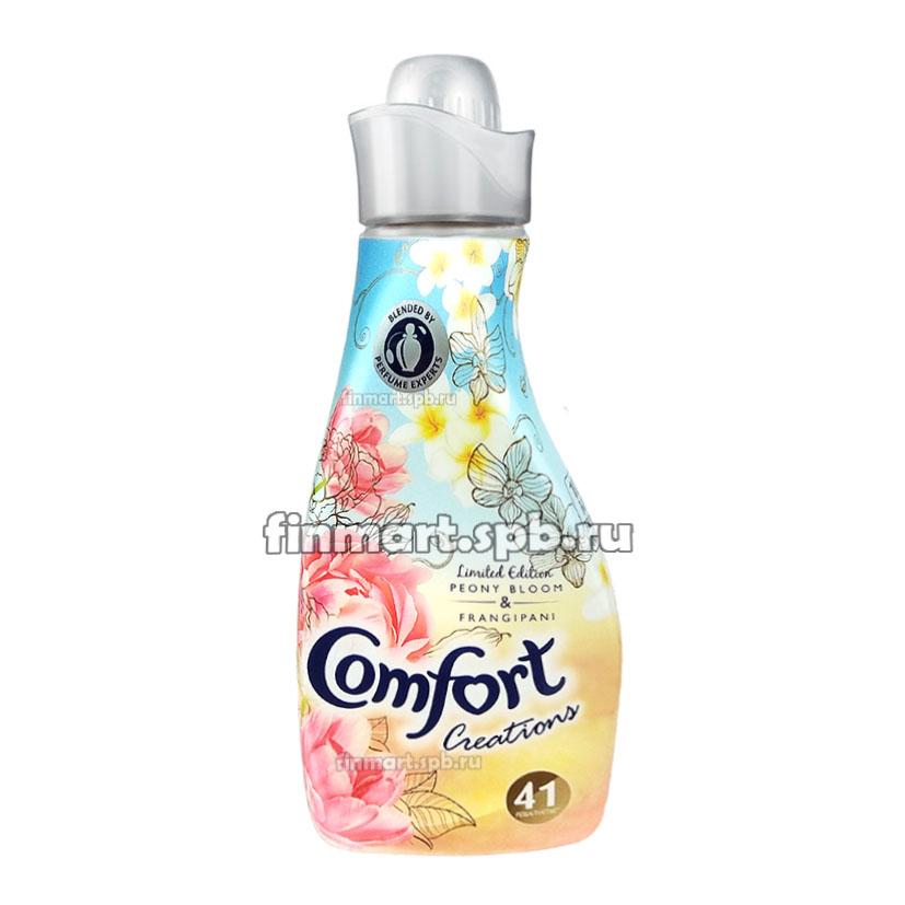 Кондиционер для белья Comfort peony bloom & frangipani - 750 мл.