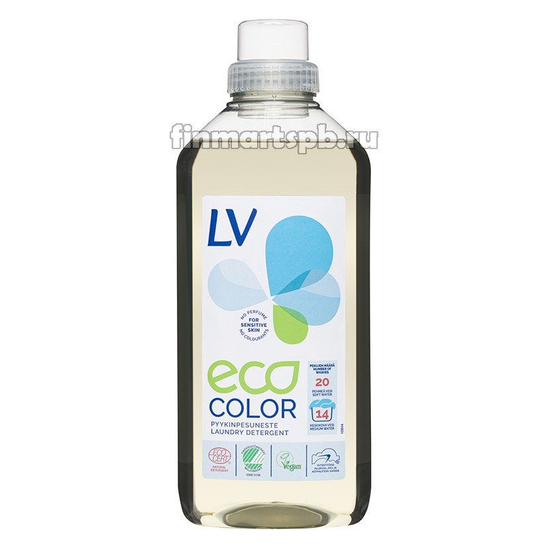 Гель для стирки Lv ECO color, 1 л.