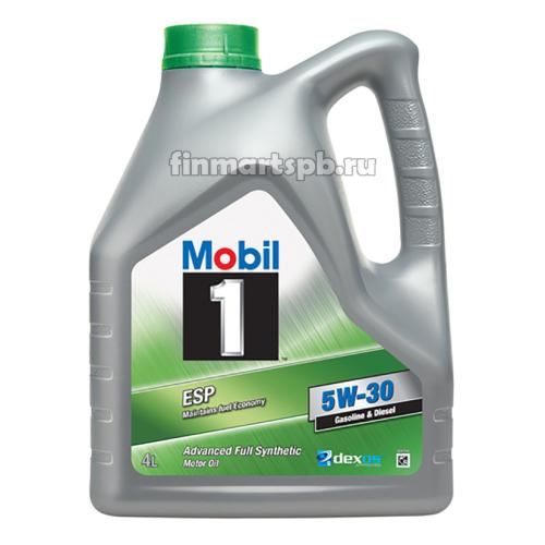 Моторное масло Mobil 1 ESP 5w-30 - 4 л.