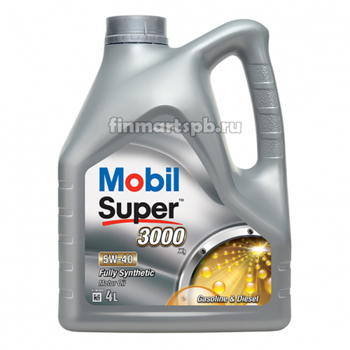 Моторное масло Mobil 1 Super 3000 5w-40