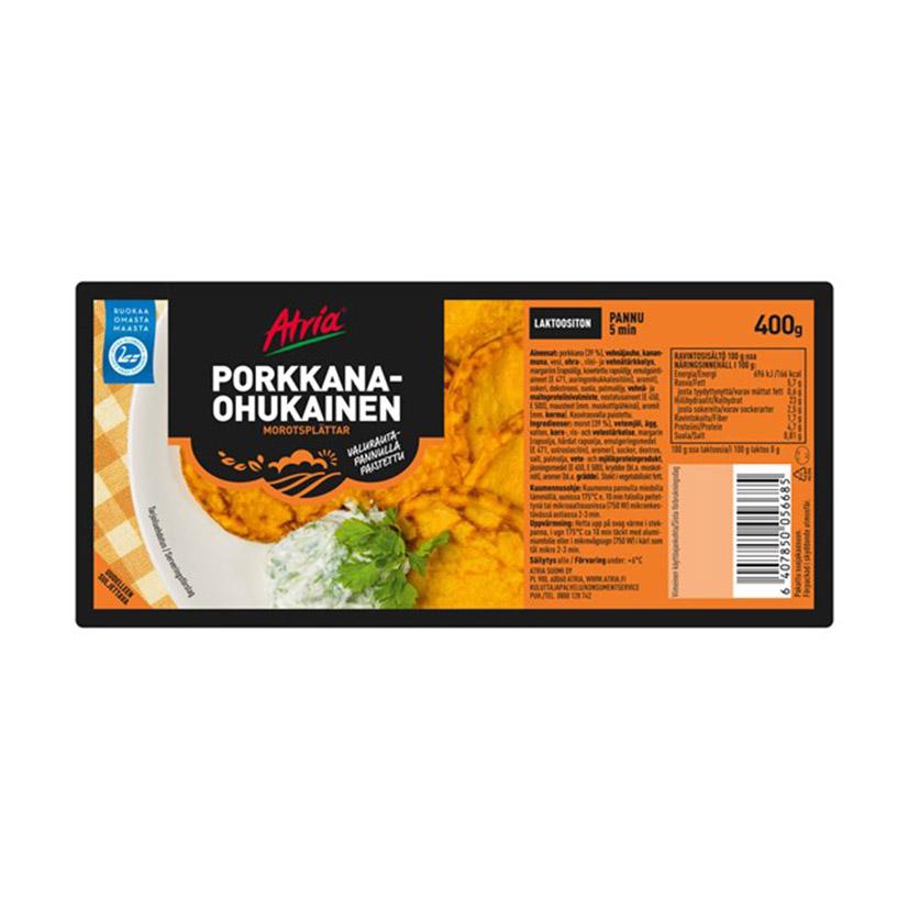 Оладьи с шпинатом Atria Pinaattiohukainen - 400 гр.