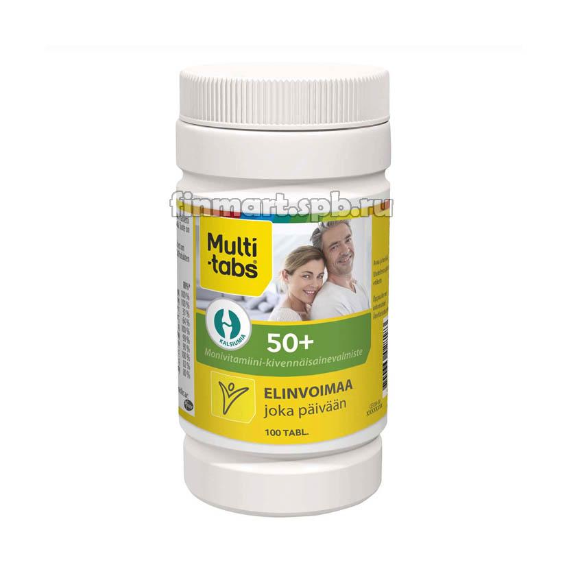 Комплекс витаминов Multi-Tabs 50+ - 100 шт.