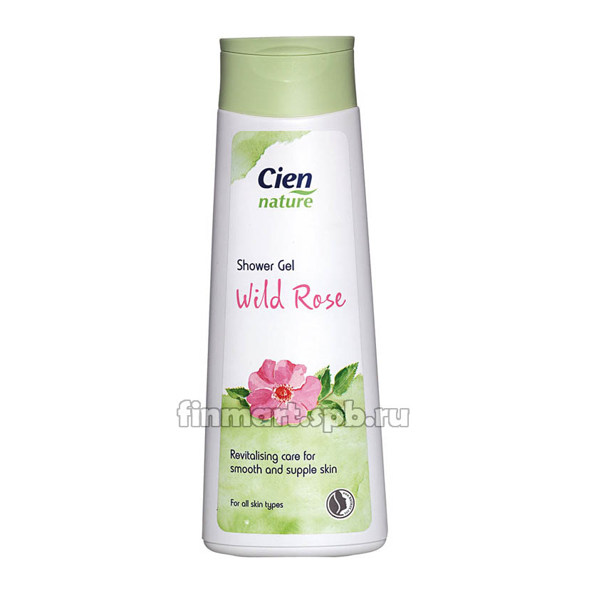 Гель для душа Cien nature shower gel wild rose - 200 мл