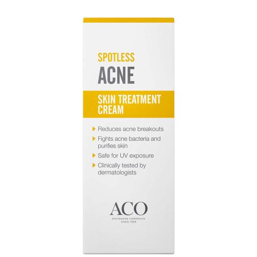 Крем для  лечения акне - ACO SPOTLESS ACNE TREATMENT 30 гр.
