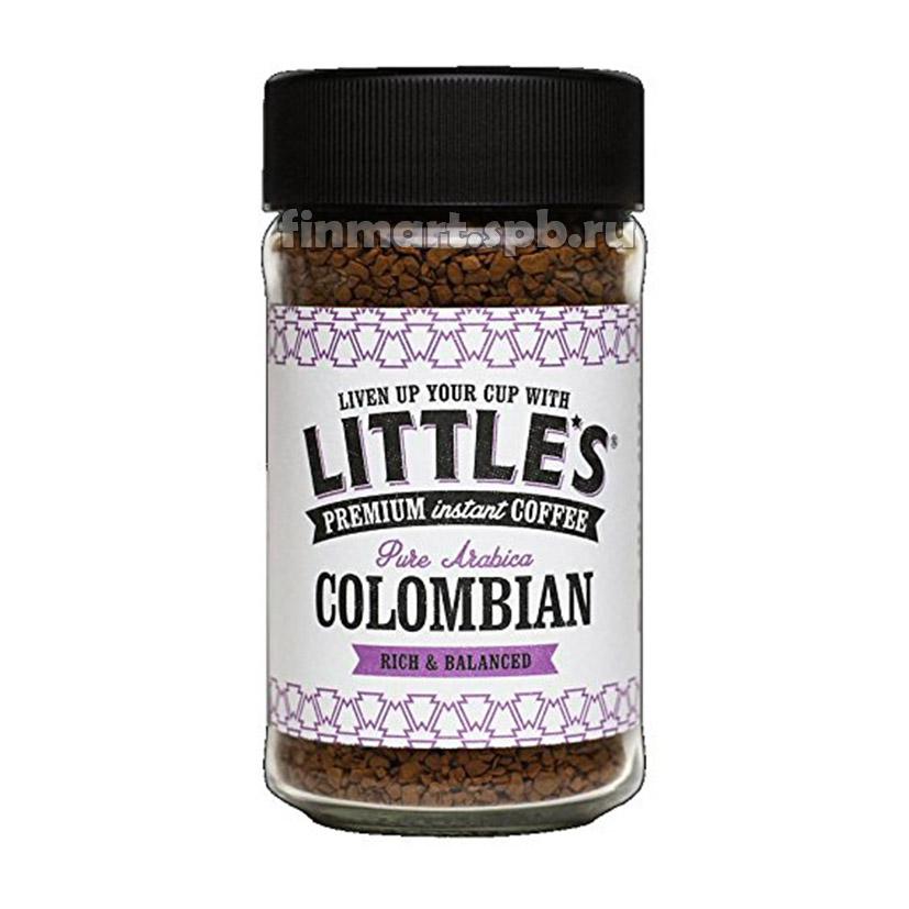 Растворимый кофе премиум Little's Colombian Premium intant Coffee - 50 гр.