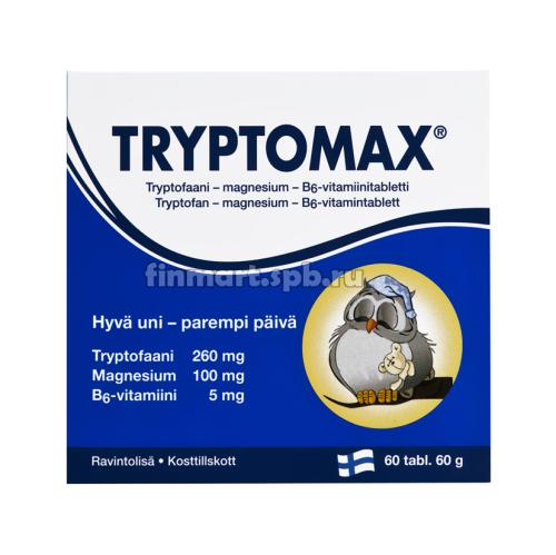 Витамины от бессонницы Tryptomax - 60 таб.