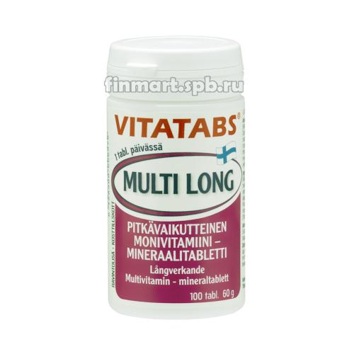 Поливитамины Vitatabs Multi Long (Витатабс мульти лонг) - 100 шт.