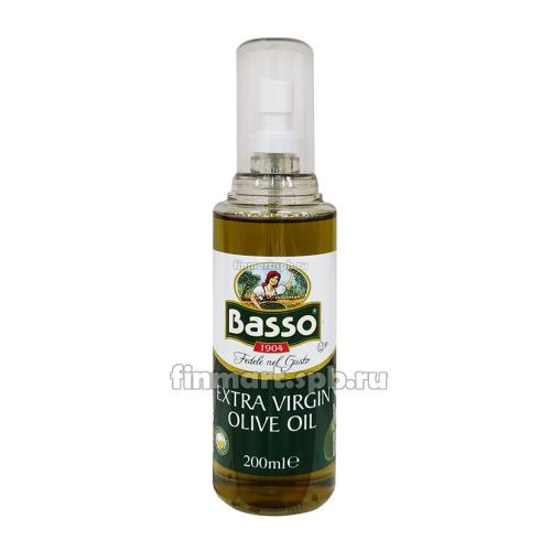 Оливковое масло Basso Extra virgin olive oil (спрей) - 200 мл.