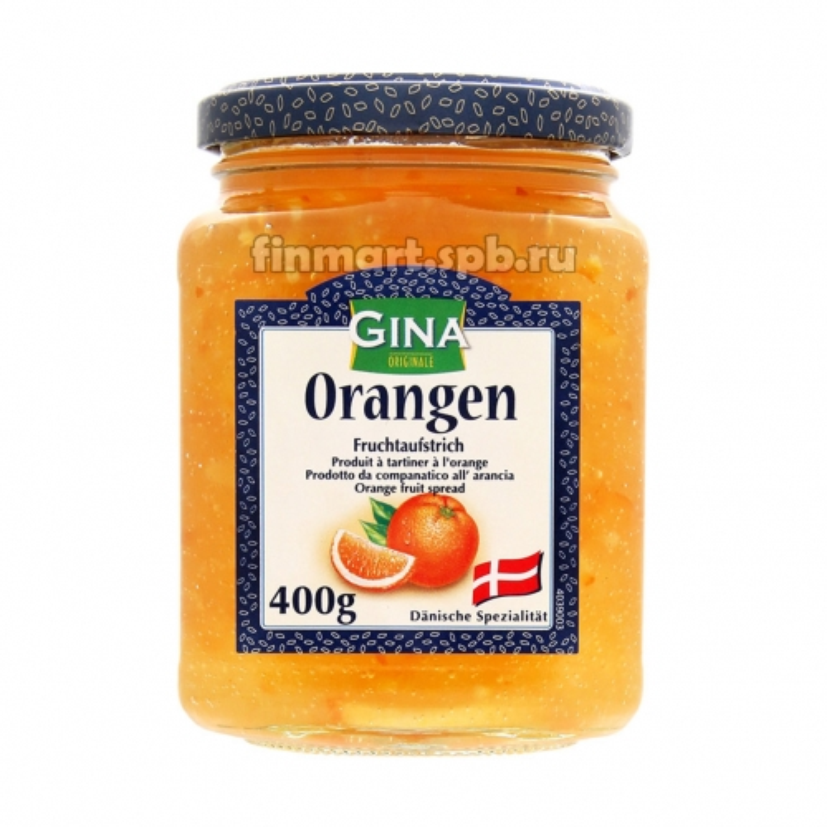 Варенье апельсиновое Gina Orangen - 400 гр.