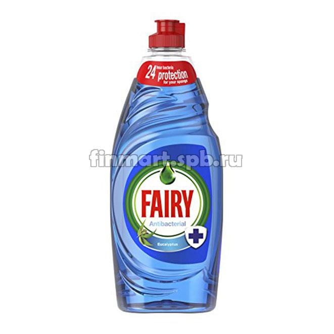 Моющее средство для посуды Fairy Antibacterial (эвкалипт) - 870 мл.