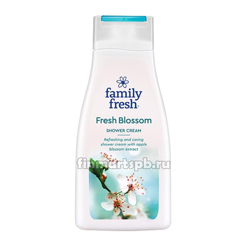 Гель-крем для душа Family Fresh Fresh Blossom - 500 мл.