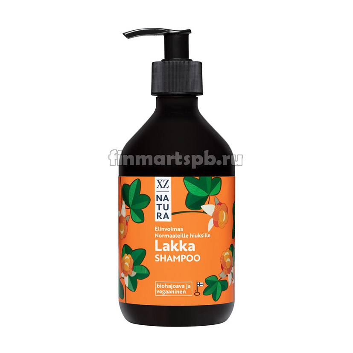 Шампунь XZ  Natura Lakka shampoo (морошка) - 375 мл.