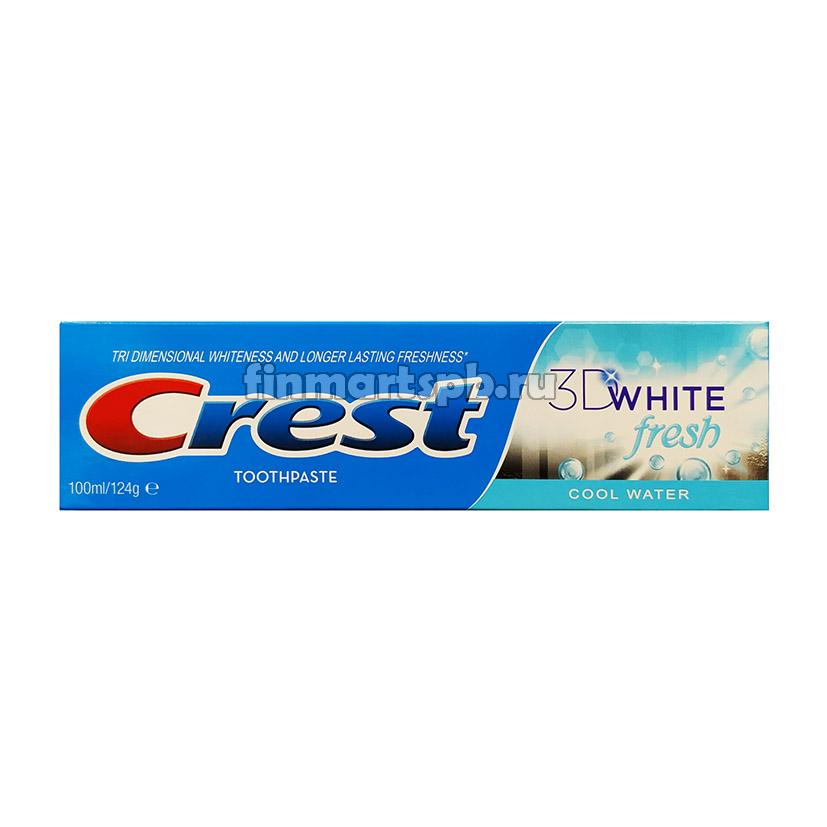 Зубная паста Crest 3D white fresh