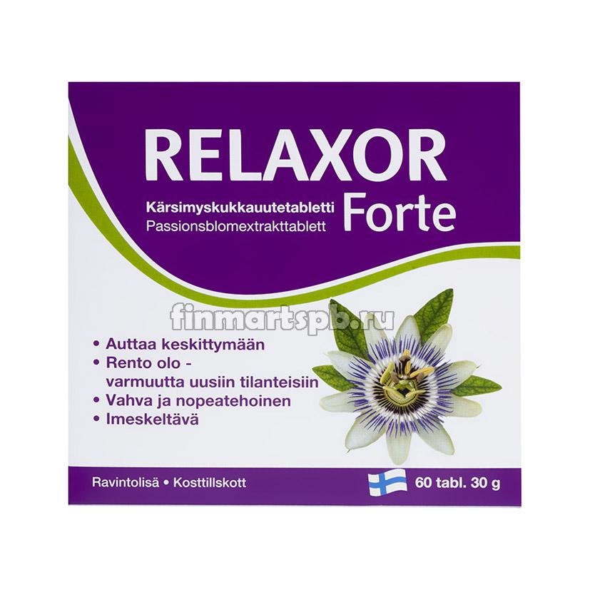 Успокоительное Relaxor forte - 60 шт.