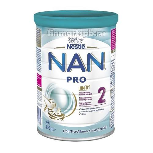 Nestle NAN 2 Pro  - 400 гр.